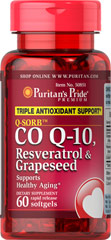 Co Q-10,Resveratrol,Grapeseed
